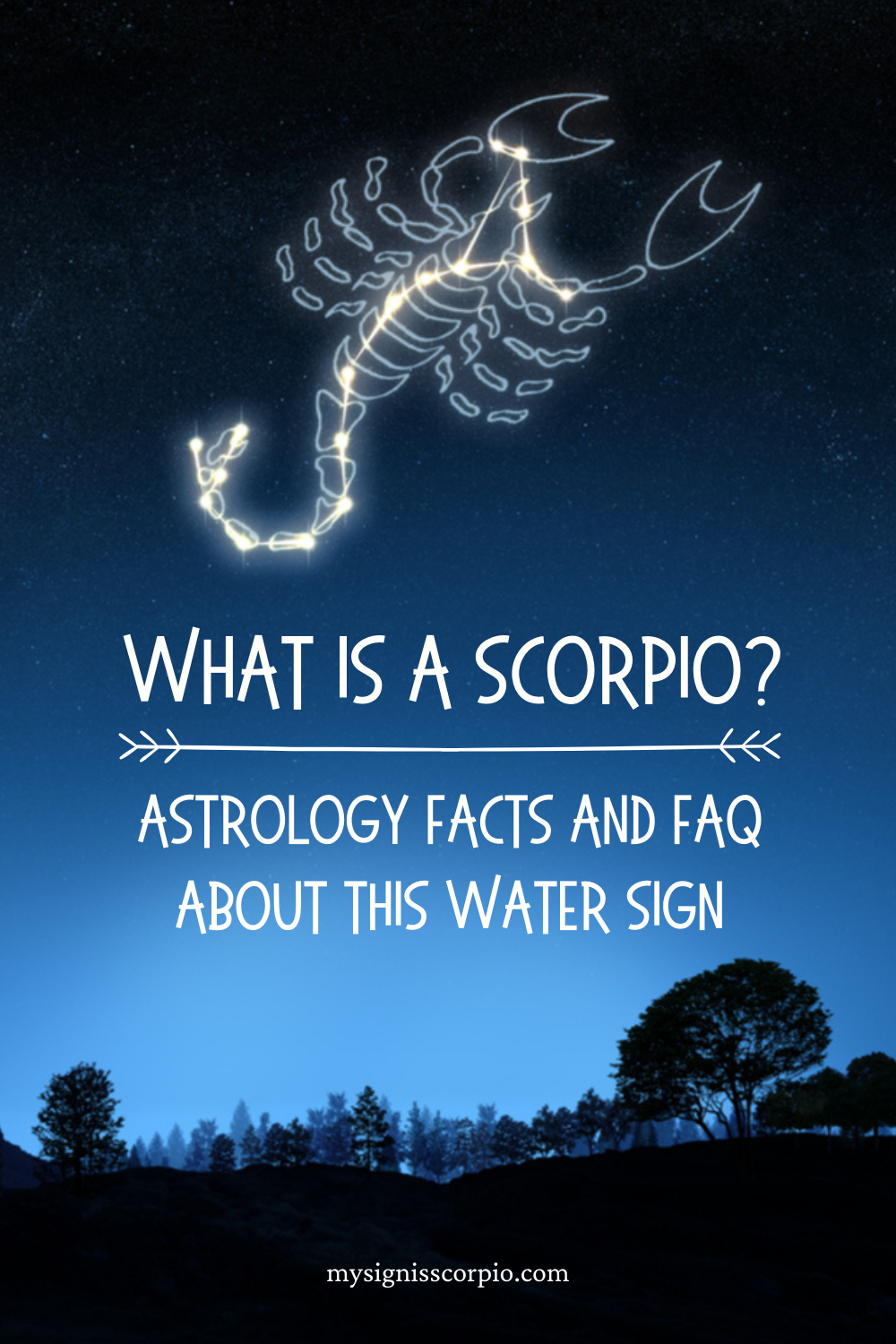 What Is A Scorpio_ Astrology Facts And FAQ About This Water Sign #scorpio #astrology #zodiac #scorpiosign